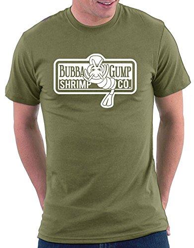 Million Nation T-shirt Bubba Gump Shrimp Company - Vert - 2 mois