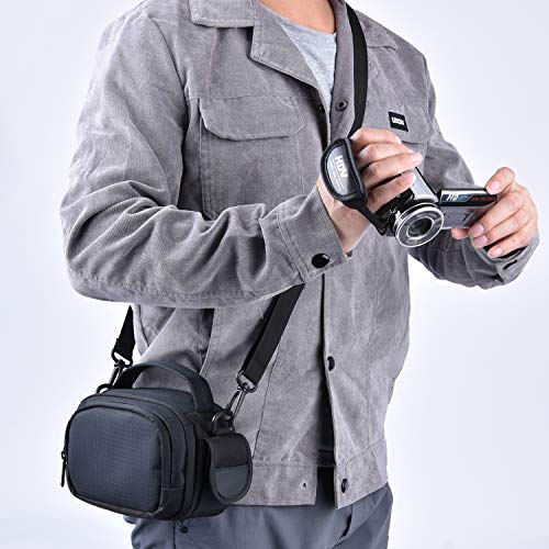 FOSOTO Camera Camcorder Case Compatible for Canon VIXIA HF R800 R700,Sony HDR-CX405 CX675 CX670 SR12 FDRAX53,Panasonic HC-V770 HC-V180 HD,RockBirds HDV-5052STR,PowerLead PL-601 Puto PLD078 HC-V770 HD
