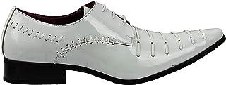 Formal Charol Brillante Inteligente Los Hombres De Oxford Encaje hasta Vestido De Boda Zapatos De Trabajo