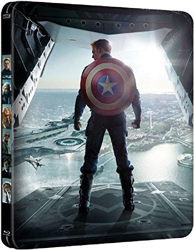 Captain America Winter Soldier 3D+2D edición limitada caja metálica reino unido (descatalogado)