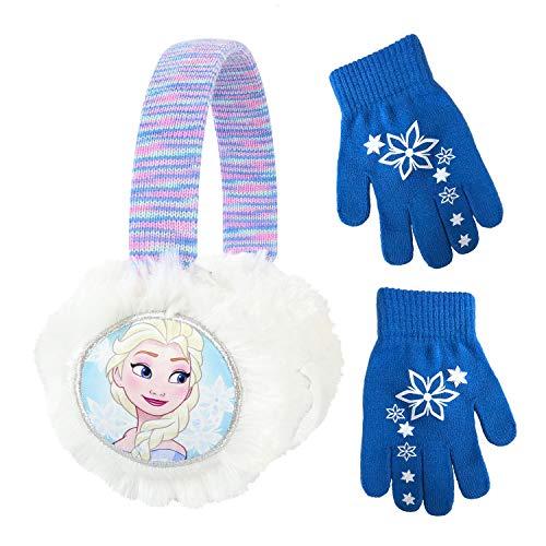 Disney Frozen II Elsa Earmuff and Glove Set [4015] Blue