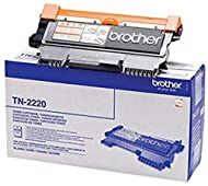 Prints 2,600 pages in accordance with ISO/IEC 19752 Genuine Brother TN-2220 black high yield laser toner cartridge, delivering an increased print volume and lower cost per page Genuine Brother toner cartridges are rigorously tested to print perfectly...