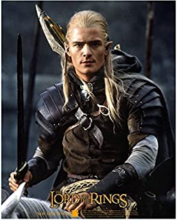 Orlando Bloom as Legolas Lord of the Rings on Horse 8 x 10 Inch Photo