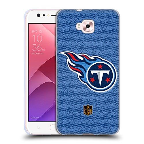 Head Case Designs Oficial NFL Fútbol Logotipo de Titanes de Tennessee Carcasa de Gel de Silicona Compatible con Zenfone 4 Selfie ZD553KL