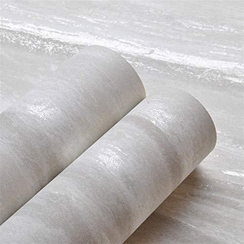jidan Cajones de Cocina Gabinetes Estantes encimeras WAL Gris Neutro Fondo de Pantalla Simple Moderna de mármol diseñador de Papel decoración de la Pared (Color : ZS00603, Dimensions : 10mx53cm)