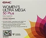 GNC Women's Ultra Mega 50 Plus Vitapak, Packs, 30 ea