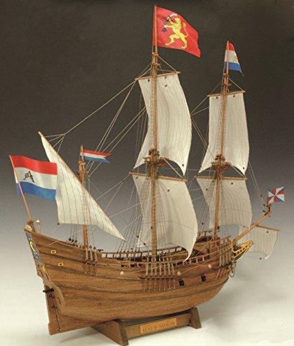 ウッディジョー 1/40 ハーフムーン 木製帆船模型 組立キット