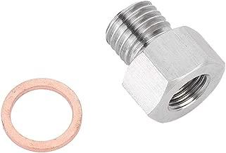 Suuonee Metric Fitting Adapter, NPT 1/8