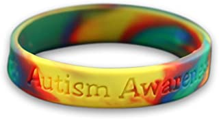 Child Autism Silicone Bracelet in a Bag