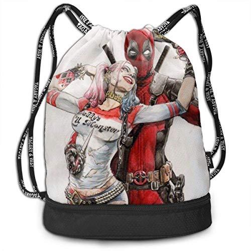 51X4VaI18fL Harley Quinn Backpacks for School