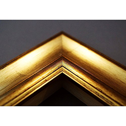 Artecentro Marco dorado para cuadros – Oro/Color con o sin paspartú de...