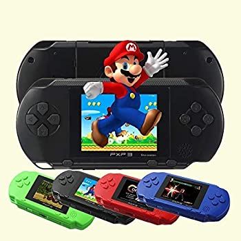 RONSHIN PXP3 Portable Handheld Built-in Video Game Gaming Console Player Retro Games Black