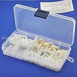 Electronics-Salon nailon redondo Arandela Surtido Kit, para M2 M2,5 M3 M4 M5 M6 tornillo M8/Bilt.