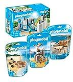 Playmobil 9062piscine Pingouin avec 9069Seal avec les enfants, 9070famille Pélican et 9071Tortue avec enfants