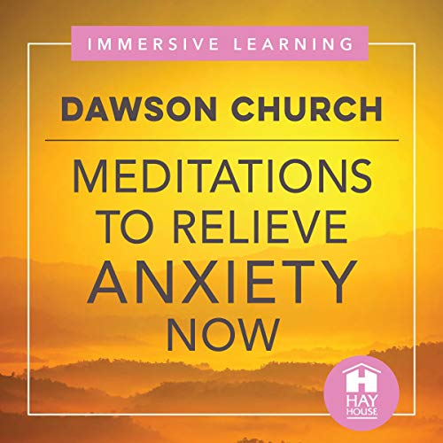 Meditations to Relieve Anxiety Now audiobook cover art