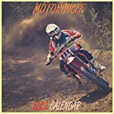 """Motorcycle Calendar 2022: Motorcycle calendar 2022 """"8.5x8.5"""" Inch 16 Months JAN 2022 TO APR 2023 finished and Glossy"""