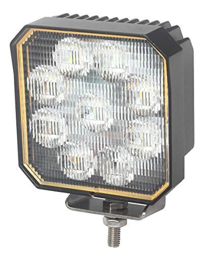 Foco de Trabajo LED con Interruptor Encendido · 35W - 5000 Lúmenes - ON/OFF · 10-30V · IP67 · Faro LED adicional Camión, Coche 4x4, Tractor