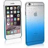 iGadgitz U3267 4.7' Funda Azul, Transparente Funda para teléfono móvil - Fundas para teléfonos móviles (Funda, Apple, iPhone 6, 11,9 cm (4.7'), Azul, Transparente)
