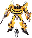 ZooYi Nanston Transformers Bumblebee Toys-Transformers Bumblebee Action Figures Toys with Sam Figures-Toys Gift for Kids