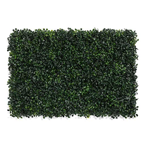 LOHASBEE Artificial Boxwood Hedges Panels, 16