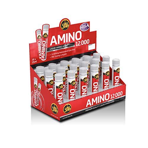 All Stars - Amino Liquid 12.000 - 18 TRINKAPULLEN á 25ml Amino Geschmack: Schwarze Johannisbeere