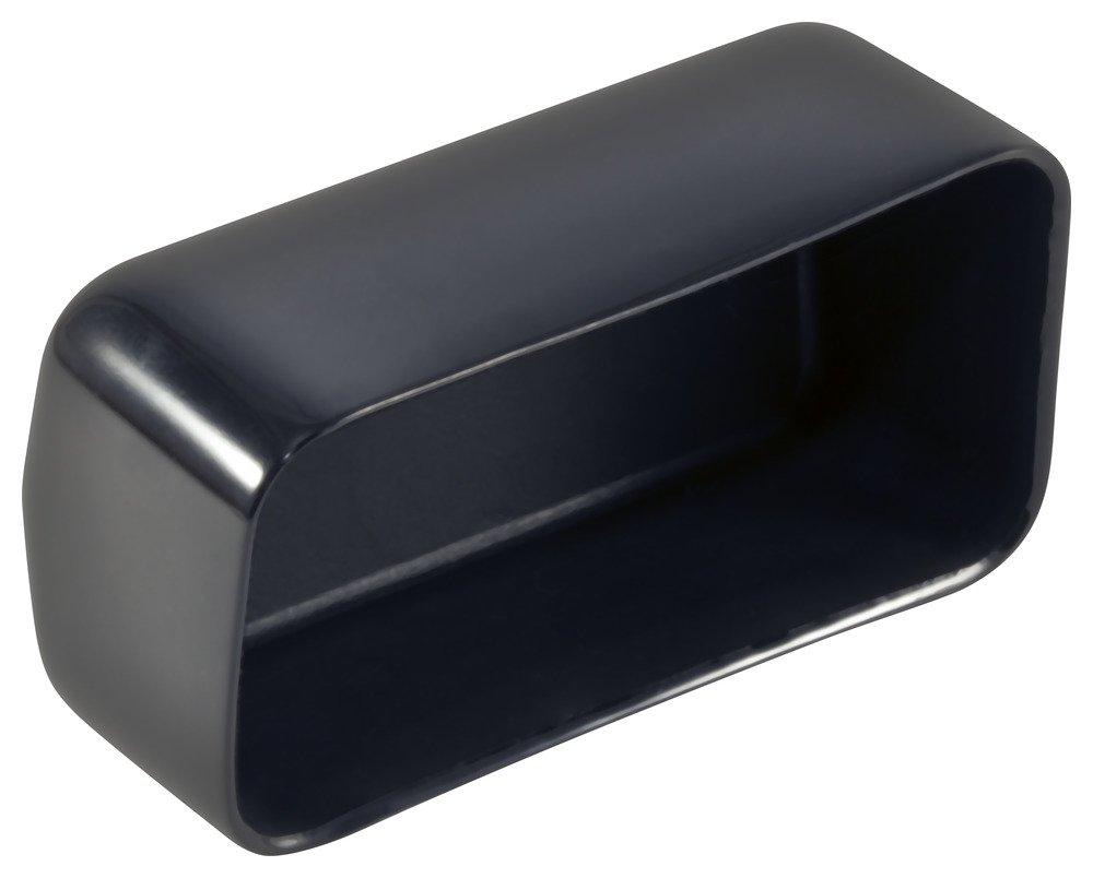 Regular store Caplugs 99392371 Plastic Rectangular Finishing Flat Cap with Cheap End