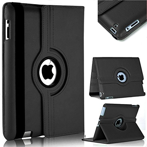 Capa Case Couro Giratoria Para Tablet Ipad 2,3 e 4