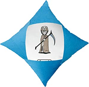 cold master DIY lab Egypt Mummy Halloween Death Horus Throw Pillow Blue Case Cover Car Bed Decorative