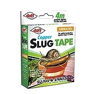 DOFF DOFAM004DS 4M Slug and Snail Adhesive Copper Tape - Multi-Colour