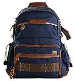Vanguard Havana 41 Rucksack (blau) für Sony, Nikon, Canon, Fujifilm Mirrorless, Compact System Camera (CSC), DSLR, Travel