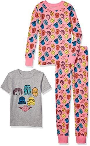 Spotted Zebra Girls Kids Disney Marvel Frozen Princess Snug Fit Cotton Pajamas Sleepwear Sets product image