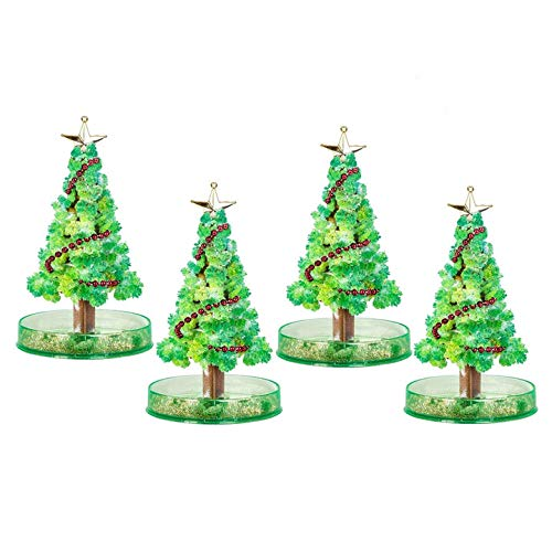 Suruc Magic Growing Christmas Tree, 24pcs DIY Magic Growing Tree, Novelty and Funny Liquid Christmas Tree Decoration for Kids Children