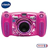 VTech – Kidizoom Duo 5.0 – Rose – Appareil Photo Enfant – Appareil Photo...