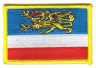 Flaggen Aufnäher Patch Rostock Fahne Flagge