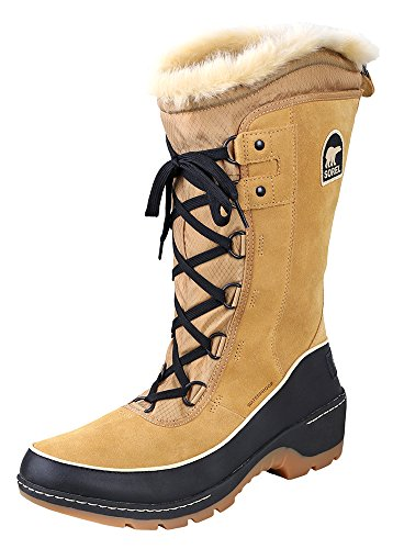 Price comparison product image Sorel Women's Tivoli Iii High Curry / Black Mid-Calf Leather Snow Boot - 7M