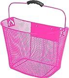 Unbekannt Ventura Vorderradkorb Lenkerkorb Stabilisator Clip-On Halter Pink/Violett