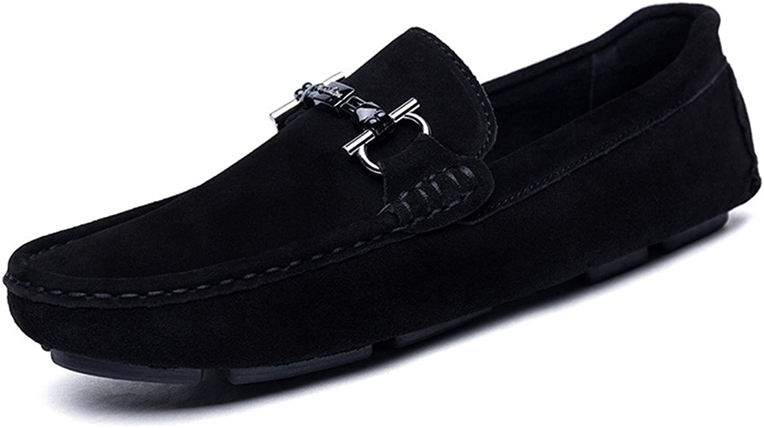 Yoga Pants Men's Driving Loafers Casual Leather Sanding Style and Hollow Breathable AntiSlip Soft Dress shoes Women
