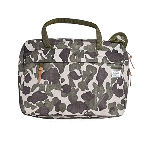 Herschel Gibson Laptop Messenger Bag Frog Camo One Size