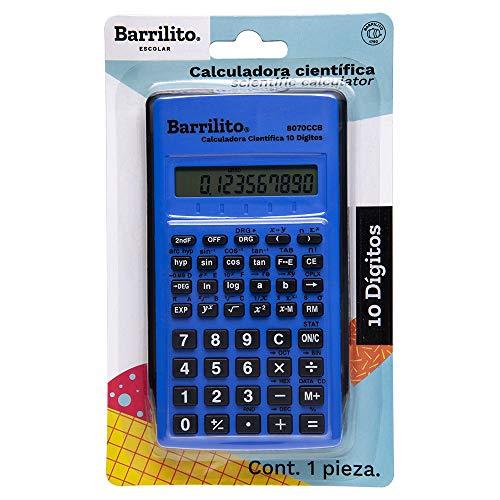 cuanto cuesta una calculadora cientifica fabricante Barrilito