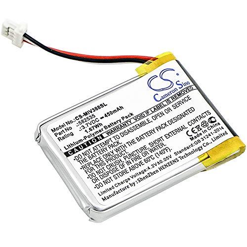CS-MIV388SL Akku 450mAh Kompatibel mit [HP] F210, F300, F310, F500G, F520, F520G,...