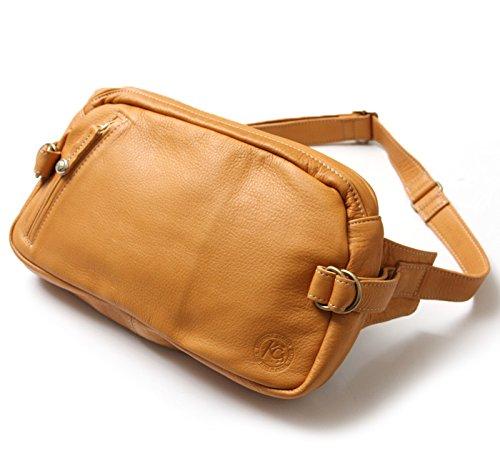 KC,s kcs ケーシーズ ケイシイズ スクエア ショルダーポーチ #2【タン】中サイズ :カバン 大きい ショルダーバッグ メッセンジャー ボディバッグ レザー 本革 メンズ カバン 通勤 通学 アメカジ 鞄 斜めがけ