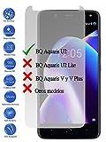 Todotumovil Protector de Pantalla BQ Aquaris U2 de Cristal Templado Vidrio 9H para movil