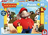 Schmidt Spiele- Benjamin Blümchen - Puzzle Infantil para la película, 40 Piezas, Color carbón (56276)