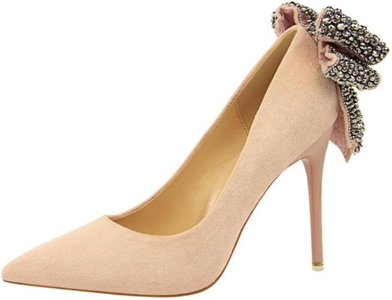 High Heels Bowknot Blink PU Sandals Bride Girls Ladies Princess Queen Fashion Kitten Heel Feminine shoes