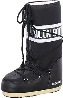 Moon-boot Nylon, Stivali da Neve Unisex-Adulto