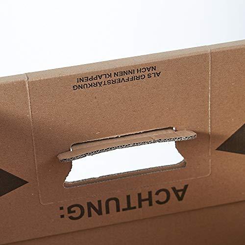 150 Gläserkartons mit 30/15 Fächern Flaschenkartons für Umzug Verpackung Umzugskartons - 5