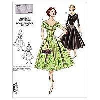【vogue patterns】50年代デザイン ヴィンテージヴォーグ ワンピースの型紙セット サイズ:US6-8-10 *2903