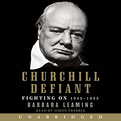 Churchill Defiant audiobook cover art