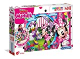 Clementoni- Disney Minnie Puzzle, 40 Piezas, Multicolor (25462.0)