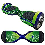 Fewear Protective Skin Decal for 6.5in Self Balancing Scooter Hoverboard 2 Wheels- Sticker for Hover Board - Skin for Self-Balancing Electric Scooter - Decal for Self Balance Mobility Longboard (I)